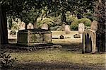Tombs in an English cemetery Stock Photo - Royalty-Free, Artist: Dutourdumonde                 , Code: 400-06424644