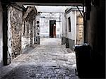 Decrepit courtyard in Paris, France Stock Photo - Royalty-Free, Artist: Dutourdumonde                 , Code: 400-06425888