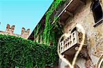 A view of the balcony of romeo and juliet in verona - italy Stock Photo - Royalty-Free, Artist: photorise                     , Code: 400-06426388