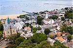 Overview of Town and Harbour, Provincetown, Cape Cod, Massachusetts, USA Stock Photo - Premium Royalty-Free, Artist: Alberto Biscaro, Code: 600-06431203