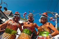 Low Angle of People in Costume at Annual Carnival Parade, Provincetown, Cape Cod, Massachusetts, USA Stock Photo - Premium Rights-Managednull, Code: 700-06431233