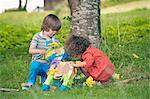 Children opening pinata at party Stock Photo - Premium Royalty-Free, Artist: Minden Pictures, Code: 649-06432525