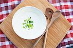 Bowl of soup with green onions Stock Photo - Premium Royalty-Free, Artist: Cultura RM, Code: 649-06432639