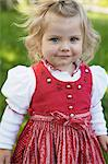 Girl in traditional Bavarian clothes Stock Photo - Premium Royalty-Free, Artist: Cultura RM, Code: 649-06432727