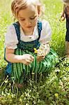 Girl in traditional Bavarian clothes Stock Photo - Premium Royalty-Free, Artist: ableimages, Code: 649-06432729