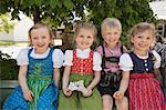 Children in traditional Bavarian clothes Stock Photo - Premium Royalty-Free, Artist: Cultura RM, Code: 649-06432735