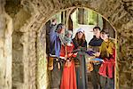 Students examining medieval castle Stock Photo - Premium Royalty-Free, Artist: AWL Images, Code: 649-06433113