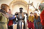 Students examining suit of armor Stock Photo - Premium Royalty-Free, Artist: Damir Frkovic, Code: 649-06433122