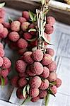 Lychee fruit for sale at market Stock Photo - Premium Royalty-Free, Artist: Michael Mahovlich, Code: 649-06433234