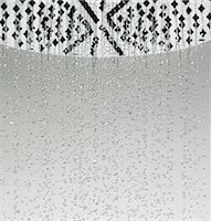 shower - Water drops falling from shower head Stock Photo - Premium Royalty-Freenull, Code: 649-06433657