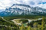 Banff Hoodoos Viewpoint, Banff, Alberta, Canada Stock Photo - Premium Royalty-Free, Artist: Ron Fehling, Code: 6106-06434458