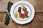 baked beetroot gnocchi Stock Photo - Premium Royalty-Free, Artist: Photocuisine, Code: 6106-06434563