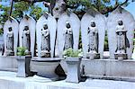 Jizo statues in Japanese Buddhist cemetery Stock Photo - Premium Royalty-Free, Artist: Masterfile, Code: 622-06439305