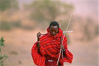 Masai Tribesman Tanzania Stock Photo - Premium Rights-Managednull, Code: 873-06440205