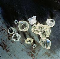 Uncut Diamonds Stock Photo - Premium Rights-Managednull, Code: 873-06440314