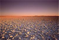 Sunset over Makgadikgadi Pans Botswana, South Africa Stock Photo - Premium Rights-Managednull, Code: 873-06440343