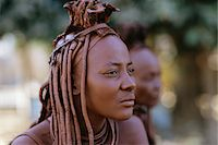 Portrait of Himba Woman in Traditional Dress Namibia, Africa Stock Photo - Premium Rights-Managednull, Code: 873-06440554