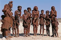 Himba Tribe Clapping Hands Namibia, Africa Stock Photo - Premium Rights-Managednull, Code: 873-06440559