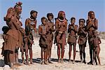 Himba Tribe Clapping Hands Namibia, Africa Stock Photo - Premium Rights-Managed, Artist: GreatStock, Code: 873-06440559