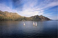 sports and sailing - Sailboats Hout Bay Western Cape, South Africa Stock Photo - Premium Rights-Managednull, Code: 873-06440594