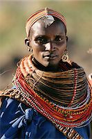 Portrait or Rendille Tribeswoman Kenya, Africa Stock Photo - Premium Rights-Managednull, Code: 873-06440682