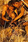 Bushmen Tying up Their Kill Botswana, Africa Stock Photo - Premium Rights-Managed, Artist: GreatStock, Code: 873-06440684