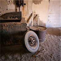 Junk in Deserted House Kolmanskop, Namibia Stock Photo - Premium Rights-Managednull, Code: 873-06440692