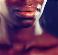 Close-up of Woman's Mouth Stock Photo - Premium Rights-Managednull, Code: 873-06440795