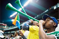 soccer fan - Fans Cheering at a Soccer Match, Ellis Park Stadium, Johannesburg, Gauteng, South Africa Stock Photo - Premium Rights-Managednull, Code: 873-06440882