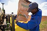 Farmer Pouring Seeds in Planter, Boons, Northwest Province, South Africa Stock Photo - Premium Rights-Managed, Artist: GreatStock, Code: 873-06440897