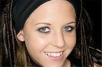 Portrait of Teenage Girl Stock Photo - Premium Rights-Managednull, Code: 873-06441024