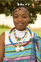Portrait of African Woman Wearing Traditional Clothing, Soweto, Gauteng, South Africa Stock Photo - Premium Rights-Managednull, Code: 873-06441046