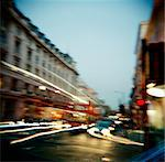 Blurred View of City, London, England Stock Photo - Premium Rights-Managed, Artist: GreatStock, Code: 873-06441119