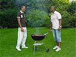 Men Barbecuing Stock Photo - Premium Rights-Managed, Artist: GreatStock, Code: 873-06441224
