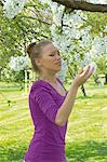 Young woman sneezing Stock Photo - Premium Rights-Managed, Artist: F1Online, Code: 853-06441401