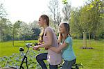 Young woman and girl Stock Photo - Premium Rights-Managed, Artist: F1Online, Code: 853-06441464