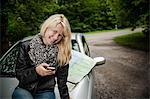 Young woman with smartphone Stock Photo - Premium Rights-Managed, Artist: F1Online, Code: 853-06442031