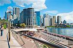 Sydney city centre and Circular Quay at Sydney Harbour, Sydney, New South Wales, Australia, Pacific Stock Photo - Premium Rights-Managed, Artist: Robert Harding Images, Code: 841-06444977