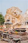 Reclining Buddha at Wat Lokayasurtharam, Ayutthaya, UNESCO World Heritage Site, Thailand, Southeast Asia, Asia Stock Photo - Premium Rights-Managed, Artist: Robert Harding Images, Code: 841-06445004