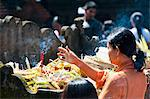 Balinese woman praying with incense at Pura Tirta Empul Hindu Temple, Bali, Indonesia, Southeast Asia, Asia Stock Photo - Premium Rights-Managed, Artist: Robert Harding Images, Code: 841-06445056