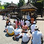Group of Hindu people praying at Pura Tirta Empul Temple, Bali, Indonesia, Southeast Asia, Asia Stock Photo - Premium Rights-Managed, Artist: Robert Harding Images, Code: 841-06445061