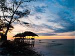 Restaurant on the beach at sunset, Gili Trawangan, Gili Islands, Indonesia, Southeast Asia, Asia Stock Photo - Premium Rights-Managed, Artist: Robert Harding Images, Code: 841-06445067