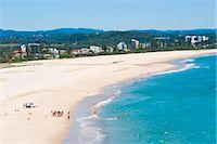 queensland - Surf school on Coolangatta Beach, Gold Coast, Queensland, Australia, Pacific Stock Photo - Premium Rights-Managednull, Code: 841-06445083