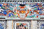 Colourful mosaic detail at The Tomb of Khai Dinh, Hue, Vietnam, Indochina, Southeast Asia, Asia Stock Photo - Premium Rights-Managed, Artist: Robert Harding Images, Code: 841-06445097