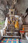 Hundreds of Buddhas at Pak Ou Caves, Luang Prabang, Laos, Indochina, Southeast Asia, Asia Stock Photo - Premium Rights-Managed, Artist: Robert Harding Images, Code: 841-06445124