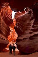 sandi model - Upper Antelope Canyon (Tse' bighanilini), LeChee Chapter, Navajo Nation, Arizona, United States of America, North America Stock Photo - Premium Rights-Managednull, Code: 841-06445414