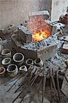 Jewellery making in north eastern Gujarat state, India, Asia Stock Photo - Premium Rights-Managed, Artist: Robert Harding Images, Code: 841-06445632