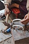 Jewellery making in north eastern Gujarat state, India, Asia Stock Photo - Premium Rights-Managed, Artist: Robert Harding Images, Code: 841-06445634