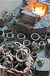 Jewellery making in north eastern Gujarat state, India, Asia Stock Photo - Premium Rights-Managed, Artist: Robert Harding Images, Code: 841-06445635