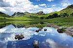 Blea Tarn and Langdale Pikes, Lake District National Park, Cumbria, England, United Kingdom, Europe Stock Photo - Premium Rights-Managed, Artist: Robert Harding Images, Code: 841-06445802